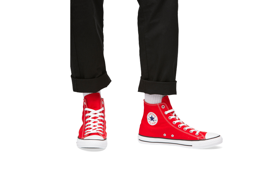 Converse Chuck Taylor High Cut Red