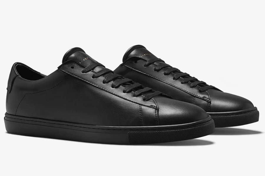 Oliver Cabell Low 1 in Jet Black