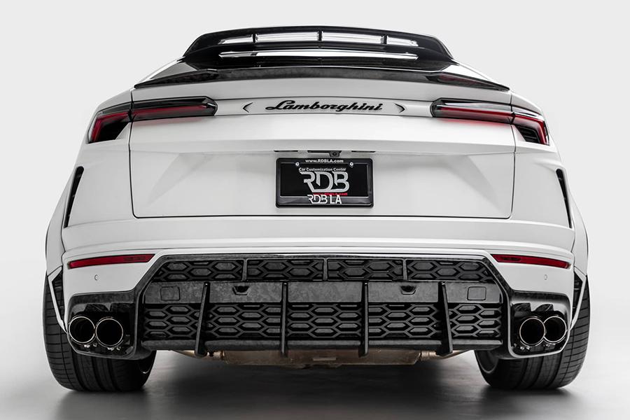 Lamborghini Urus back view