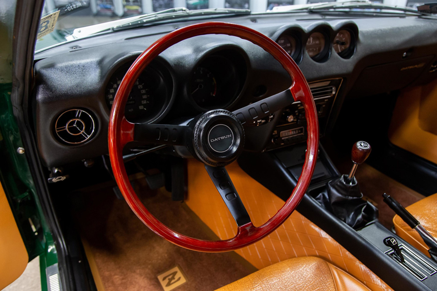 1971 Datsun 240Z Series I steering wheel