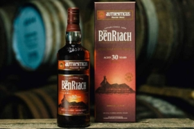 30-year-old BenRiach Authenticus scotch