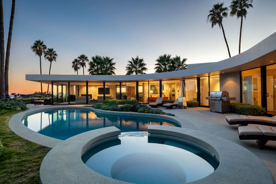 Elon Musk's LA mansion