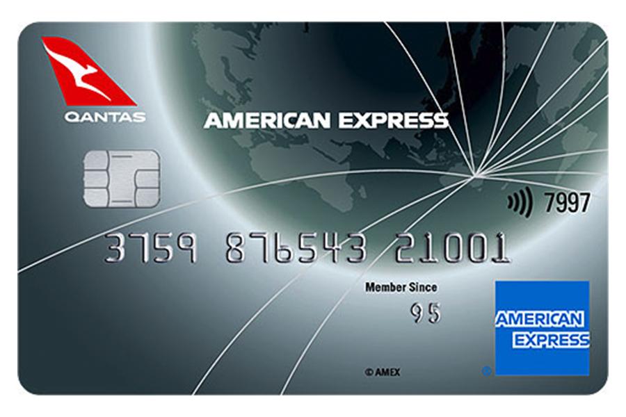 American Express Qantas card