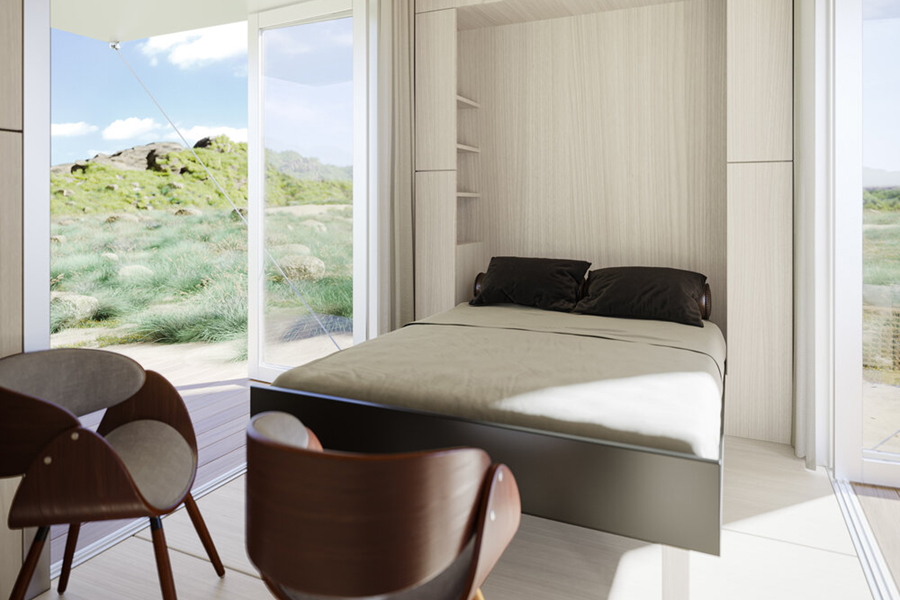 Buhaus Container Homes bedroom
