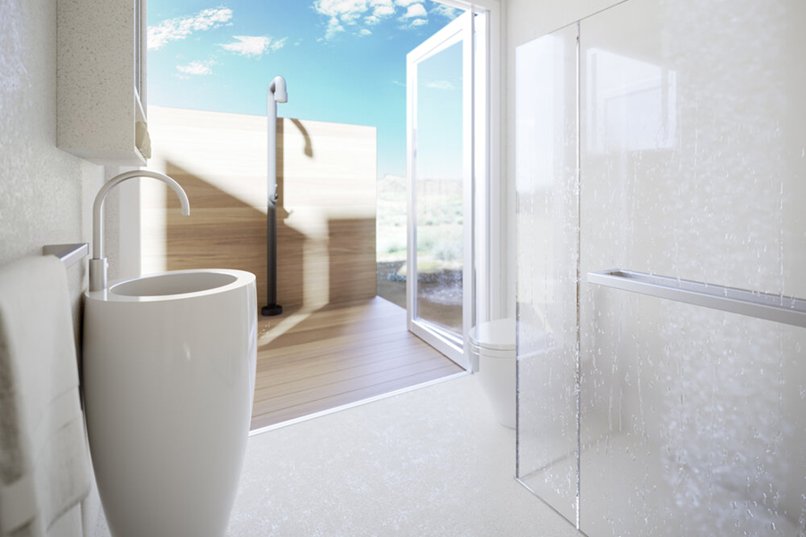 Buhaus Container Homes bathroom