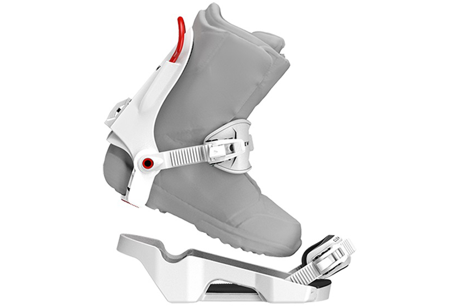 clew Snowboarding Binding side view