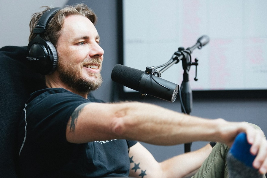 actor and podcast host dax shepard
