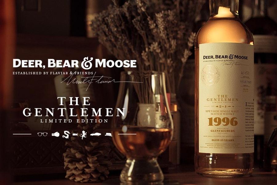 Deer Bear Moose whisky the gentlemen