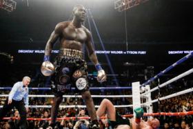 Deontay Wilder in ring