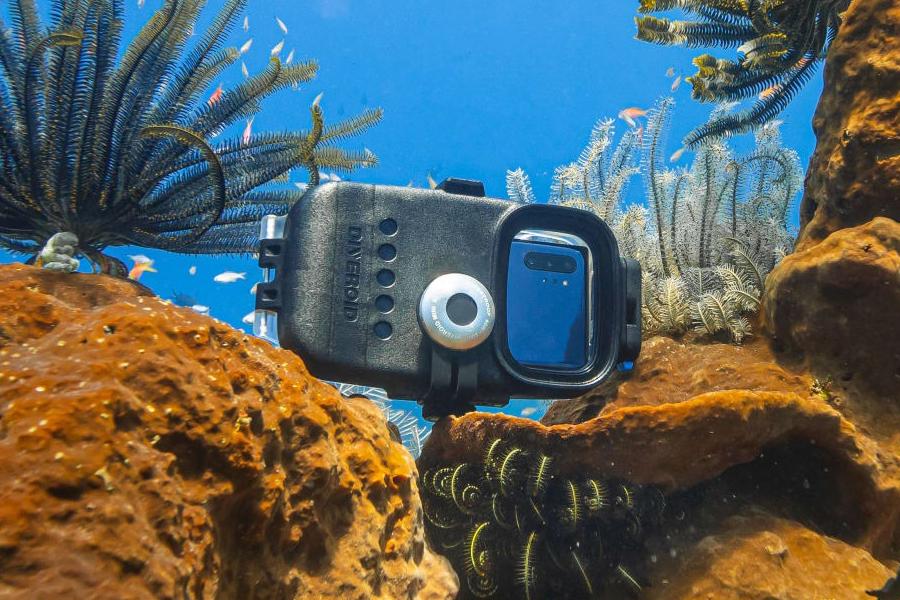 Diver Droid diving camera