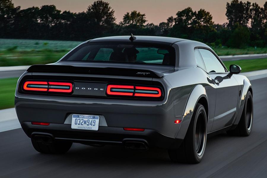 Dodge Demon back
