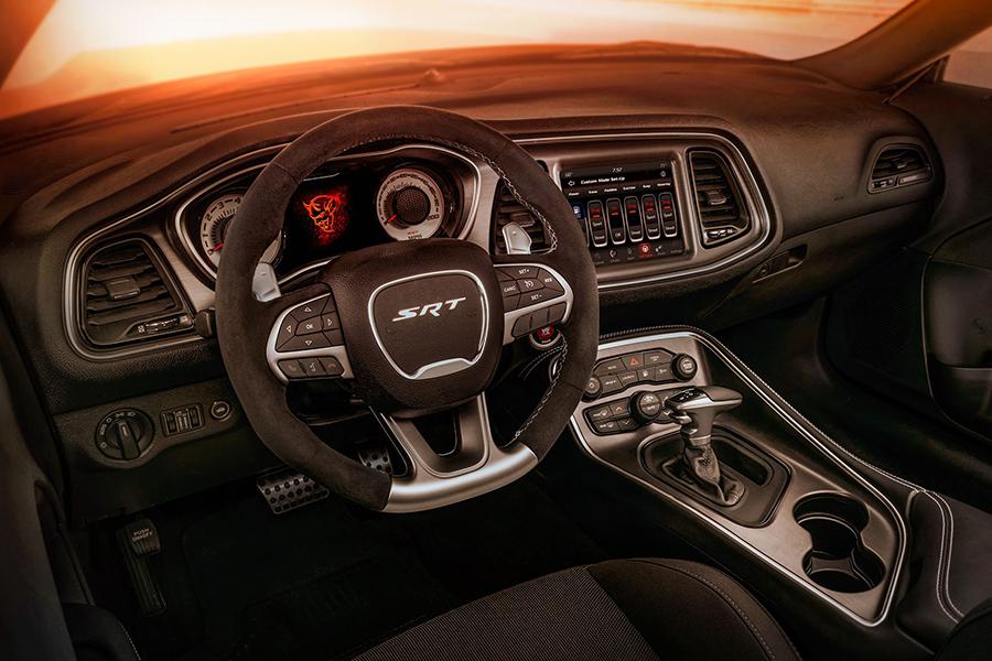 Dodge Demon steering wheel