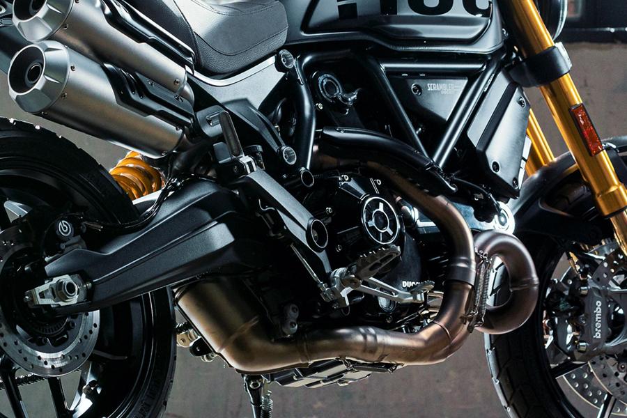 Ducati Scrambler engine bike