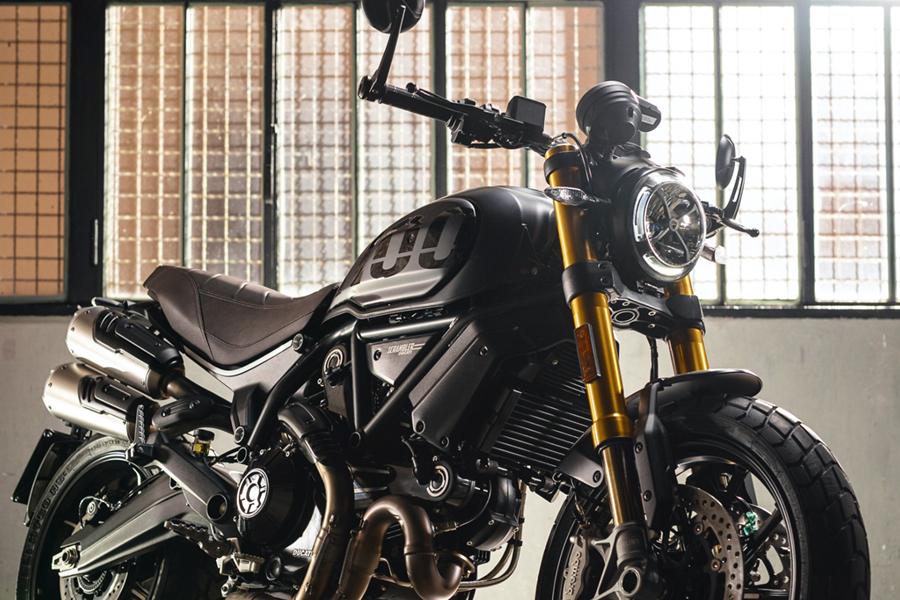 Ducati Scrambler front headlight