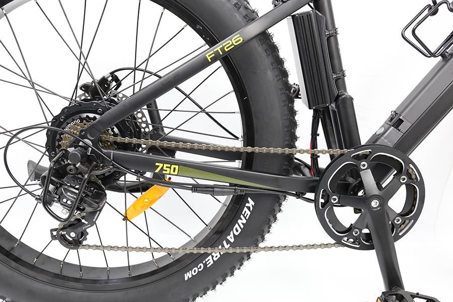 FT750 26 electric bike wheel
