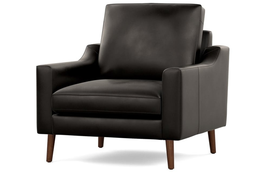 Burrow Nomad Leather Club Chair