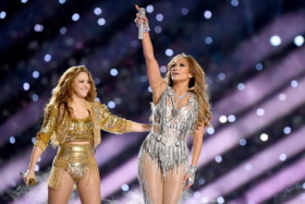 J Lo and Shakira at Half Time Show