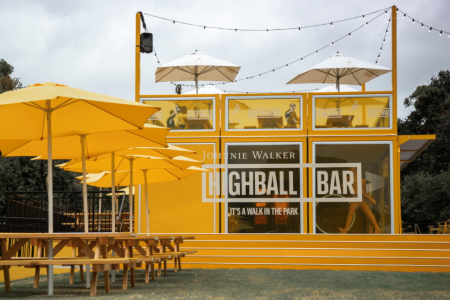 johnnie Walker Highball bar