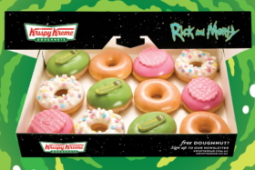 krispy kreme rick and morty doughnuts