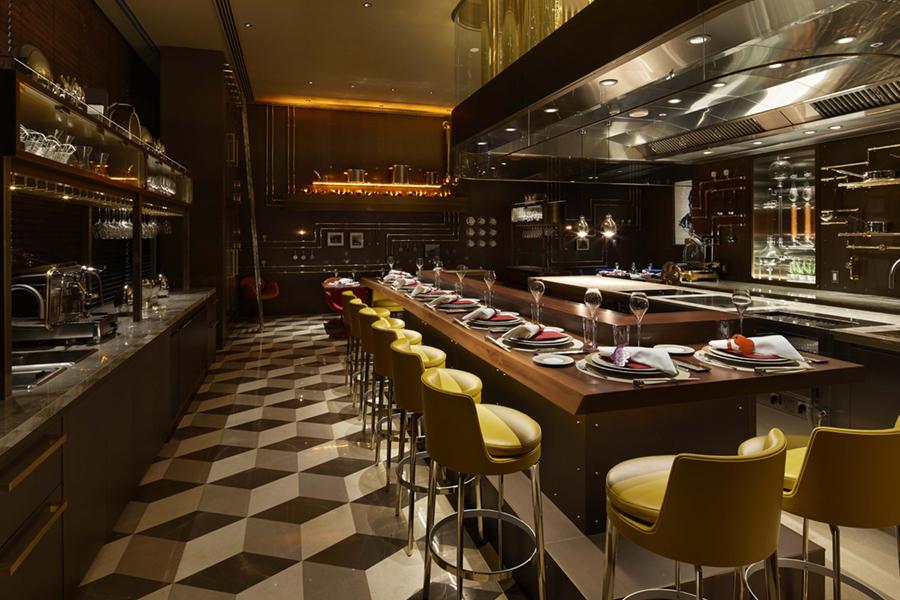 Louis Vuitton restaurant dining