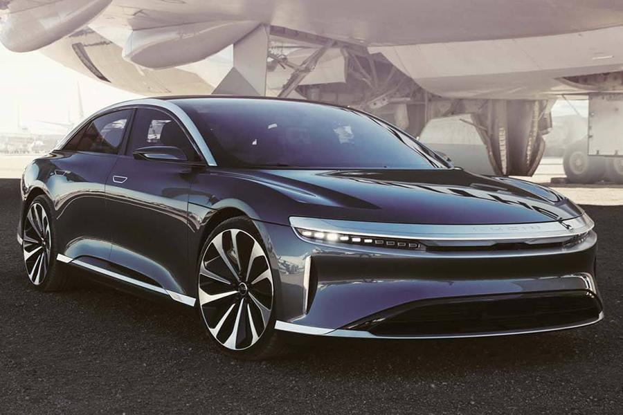 Lucid Air tesla electric car