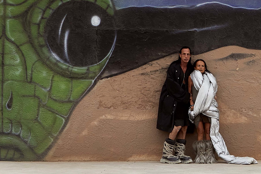 See Moncler and Rick Owens Road Trip to Area 51 | Man of Many