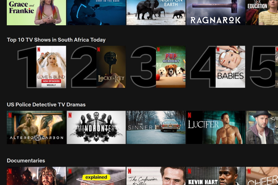 Netflix Launches New Top 10 Lists for Movies & TV