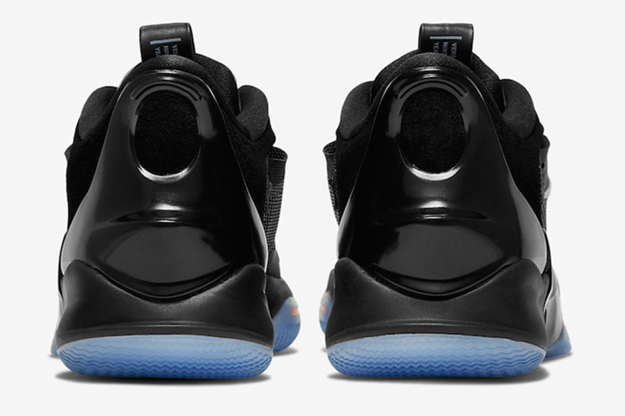 nike adapt bb 2.0 back view of the sneakers