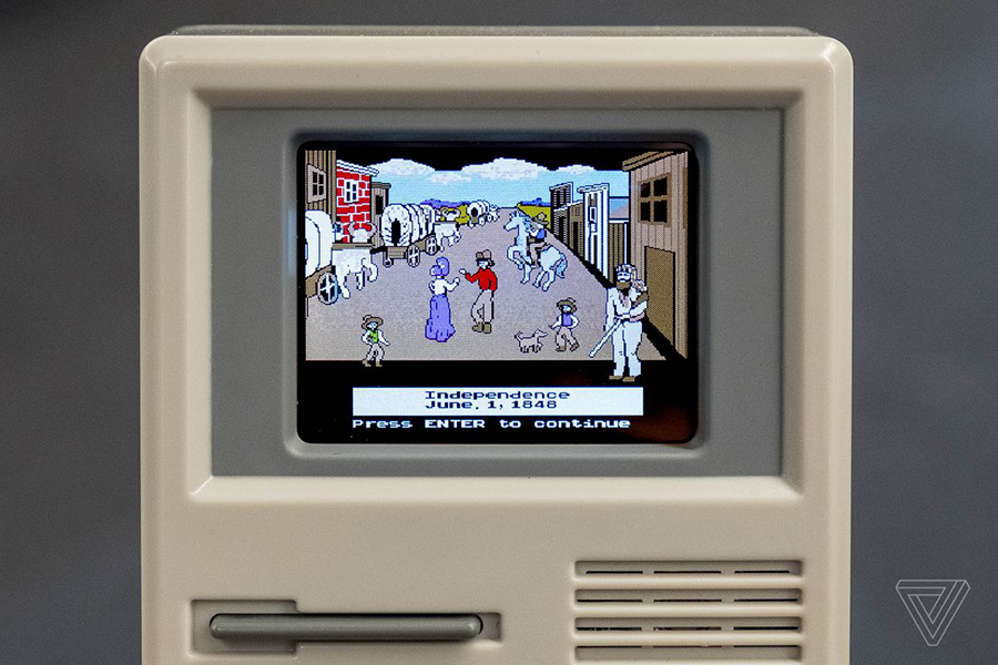 Orgeon Trail Game screen