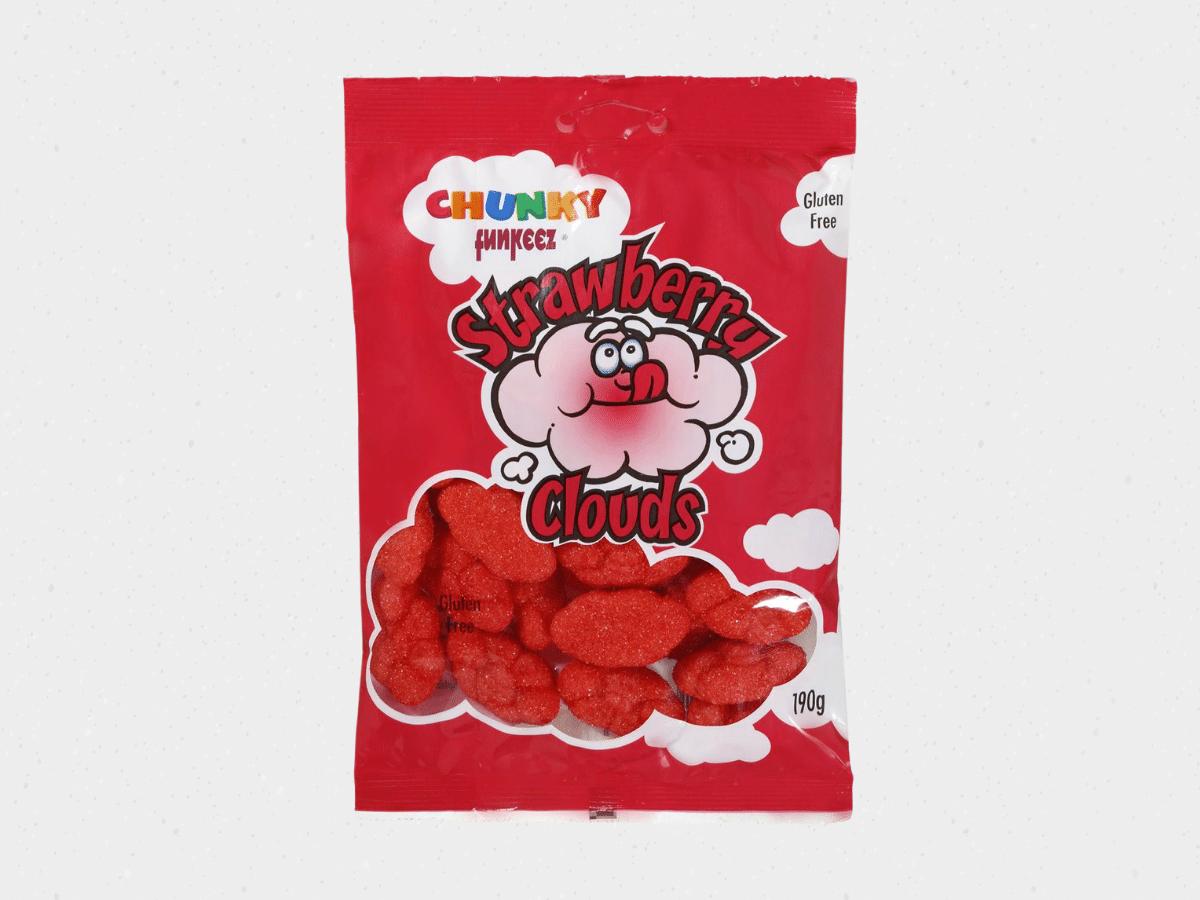 Strawberry clouds