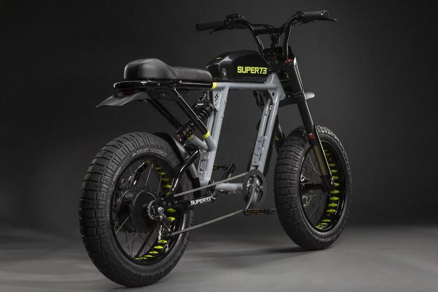 electric bike Super 73 back view