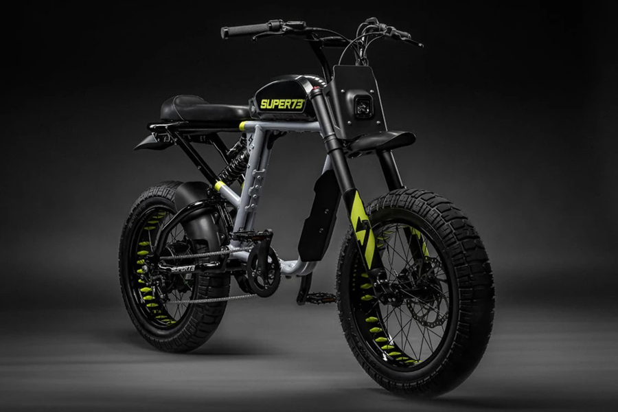 electric bike Super 73 side view