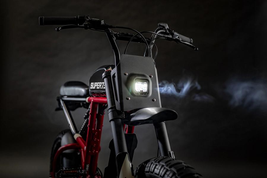 Super 73 electric bike headlight