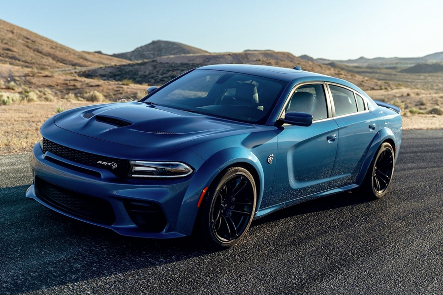 2022 Dodge Charger Hellcat on road