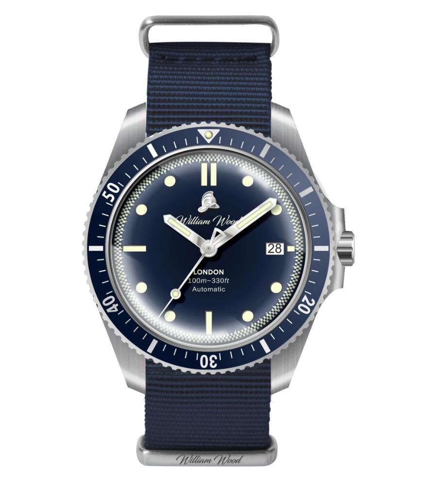william wood valiant watch nato strap