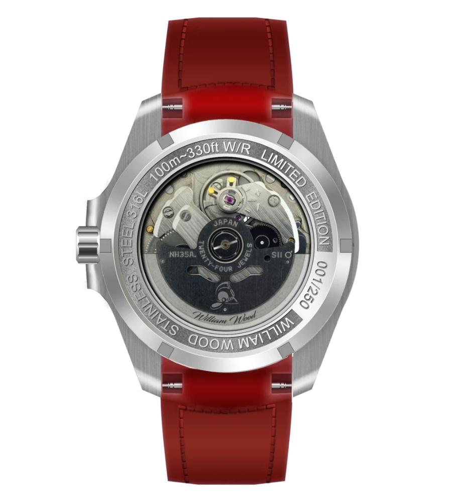 limited edition watch caseback