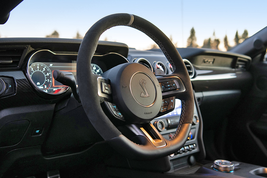 Ford Mustang Shelby GT500 steering wheel