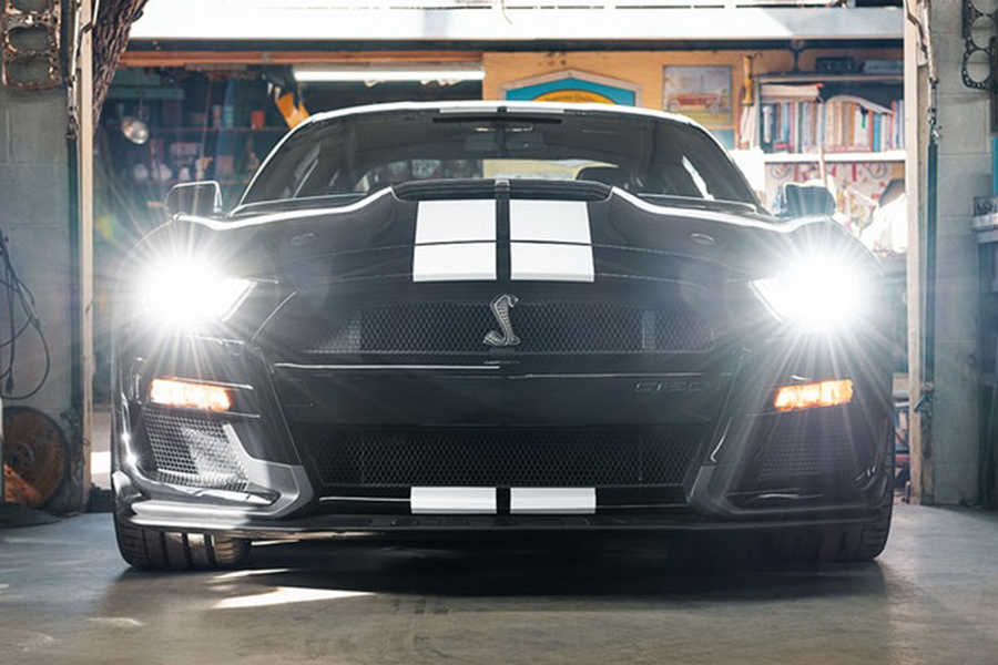 Ford Mustang Shelby GT500 front