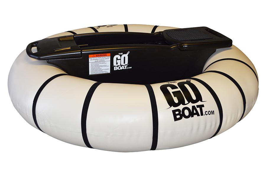 white goboat bumper boat