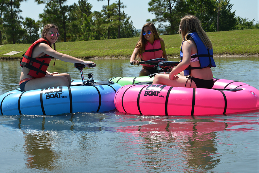 ride on the goboat motorized bumper boat