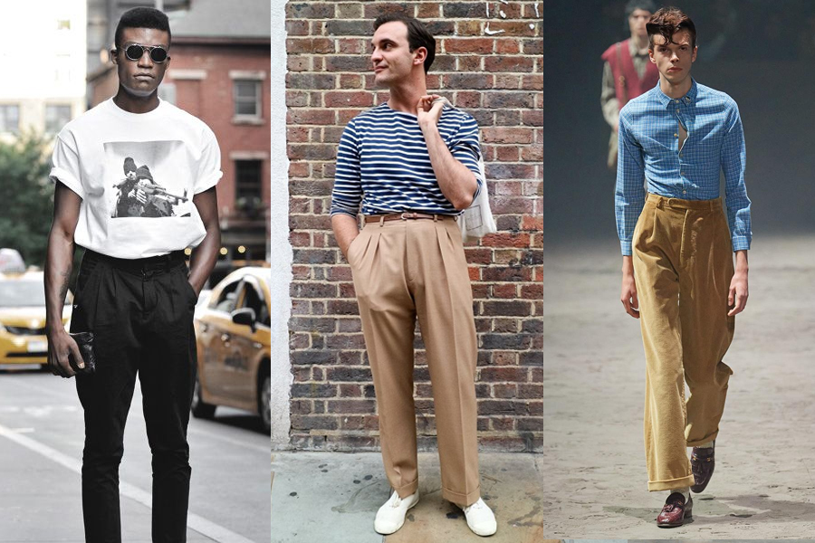 High Waist Low Expectations mens fashion trend 2020