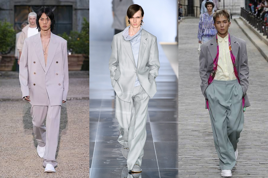Loosen Up mens fashion trend