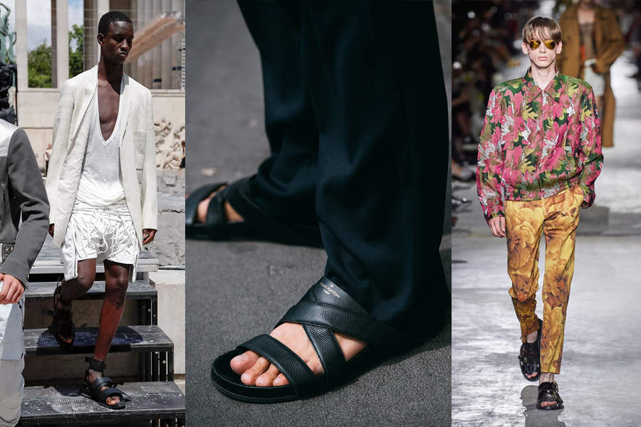 Orthopedic Chic mens fashion trend 2020