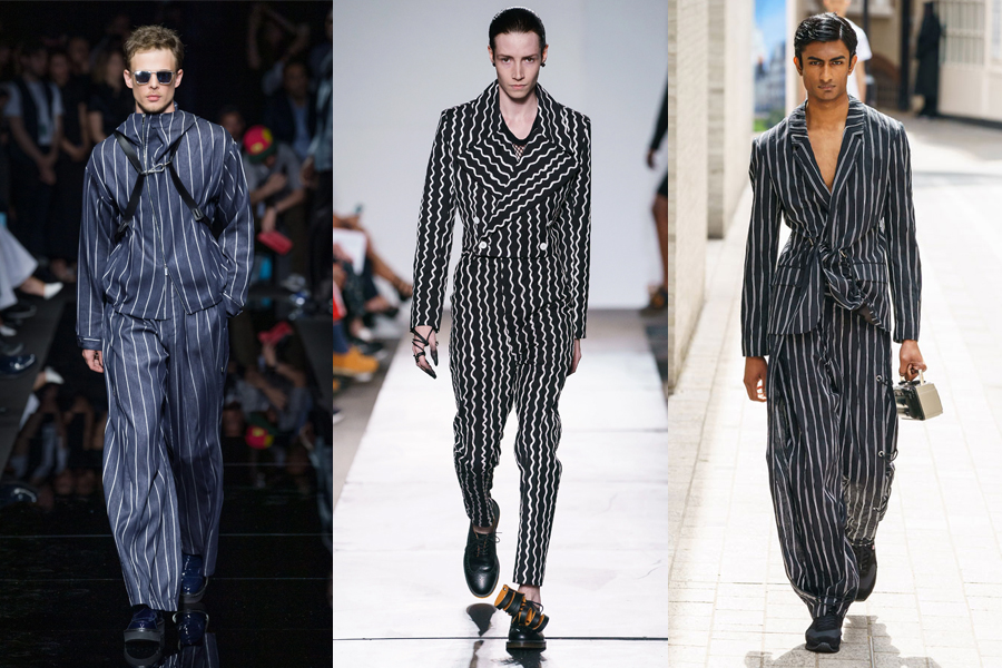 11 Best Men's Fashion Trends for Spring 2020 - Pin stripe mens fashion trend 2020