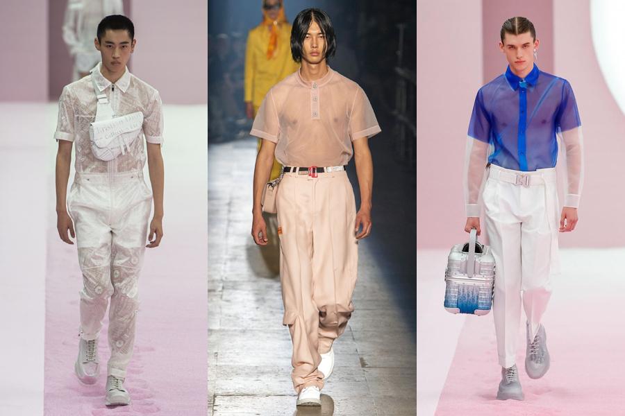 Sheer Shirting mens fashion trend 2020