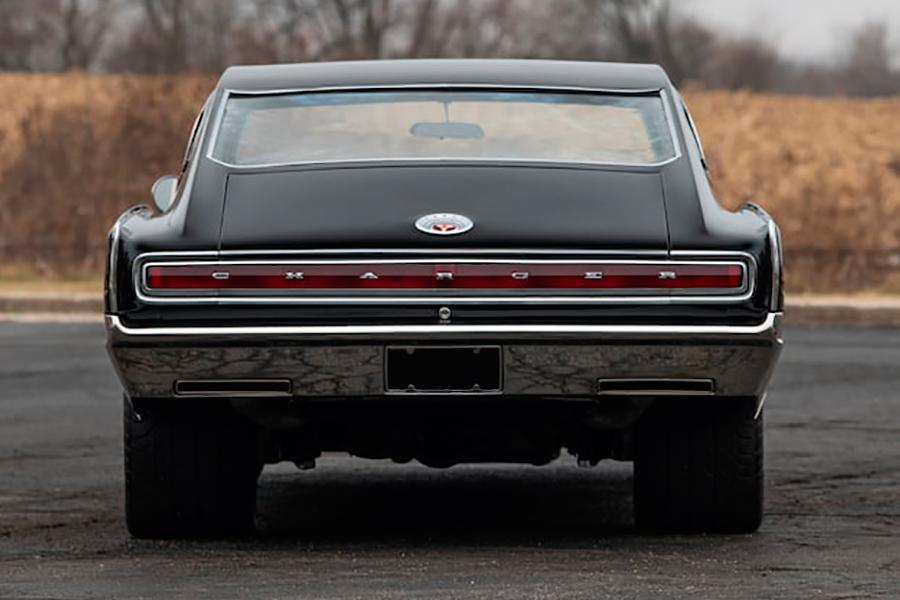 1967 Dodge Charger Resto back