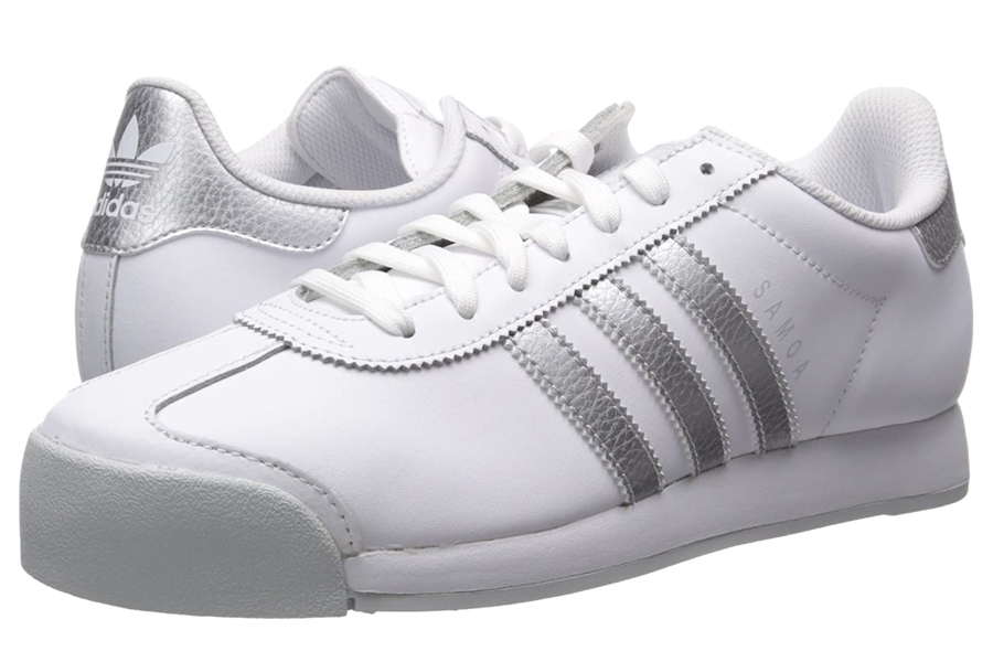 Adidas Originals Samoa Retro White Sneakers