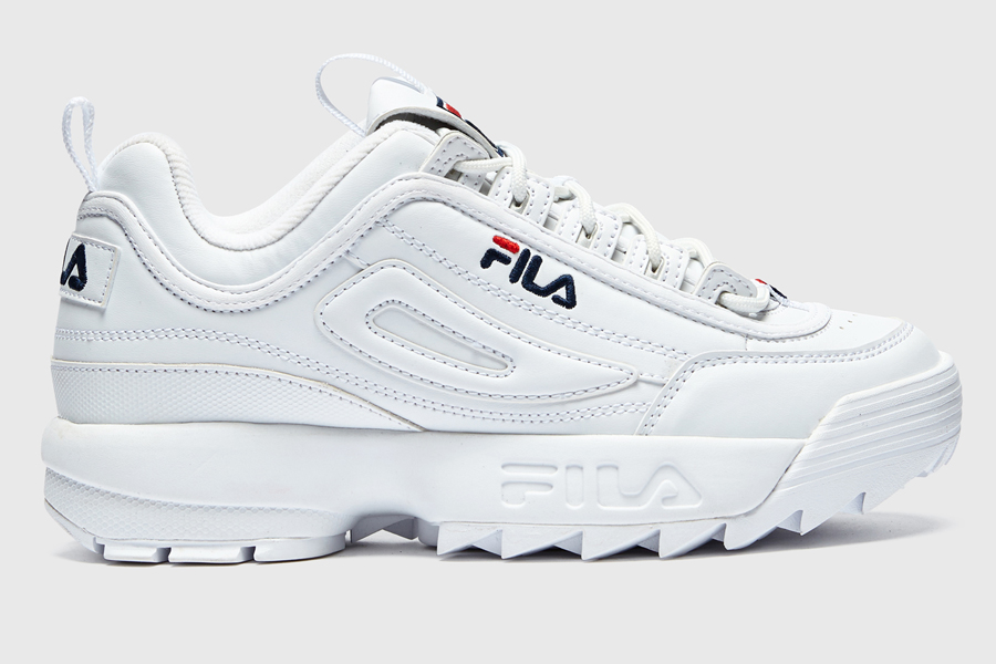 Fila Disruptor II white sneakers
