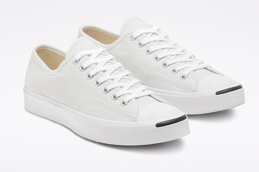 Jack Purcell White Canvas Sneakers