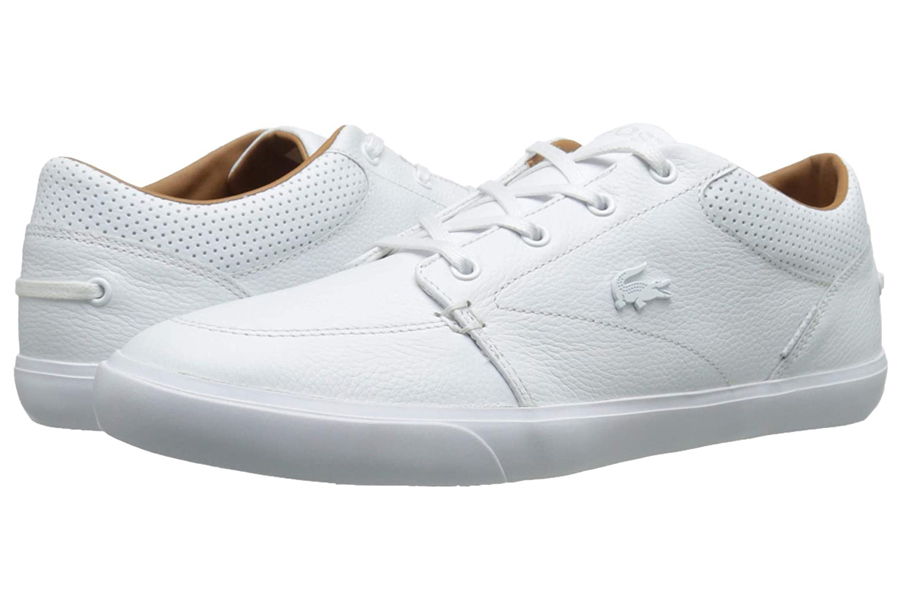 Lacoste Bayliss Vulc Premium White Sneakers